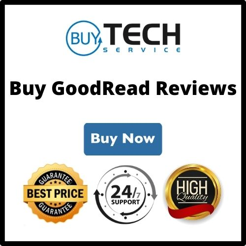Buy GoodReads reviews