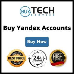 Buy Yandex Accounts